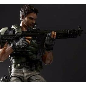 Action Figure Chris Redfield Resident Evil 25cm Frete Grátis