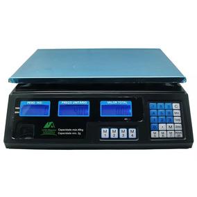 Balança Eletrônica Digital 40kg Alta Precisão Bateria Bivolt