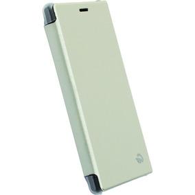 Funda Flipcover Para Celular Sony Xperia M2 Blanco