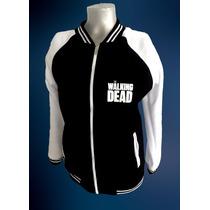 Buzo Beisbolera Universitaria The Walking Dead Para Adulto