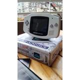 Consola Game Boy Advance Con Caja+manuales Unica En Ml Ntdf