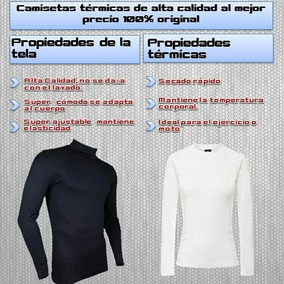 Camiseta Termica Tipo Media Polera
