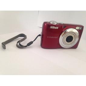 Camera Digital Nikon Coolpix L22 S/cabo/bateria Usada