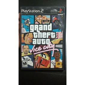 Jogo Game Gta Vice City Ps2 Completo Seminovo Americano Ntsc
