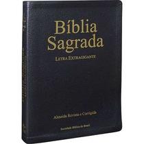 Bíblia Sagrada Letra Extragigante Arc Tamanho Grande 17x23