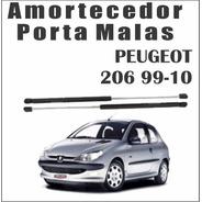 Amortecedor Tampa Traseira Porta Malas Peugeot 206 Par