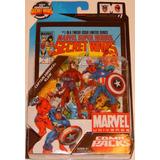 ### Marvel Universe Comic Packs Captain America & Klaw ###