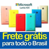 Tampa Microsoft Lumia 435 N435 Capa Traseira Varias Cores!