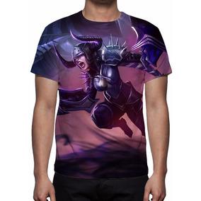 Camisa, Camiseta League Of Legends - Shyvana Chamas Negras