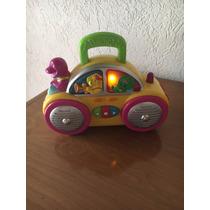 Auto Barney Con Musica Y Luces - Usado