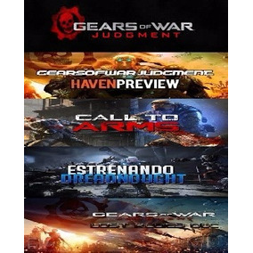 Gears Of War Judgment Dlc Xbox 360 Todos Los Mapas
