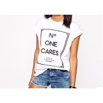 Blusa Manga Corta No. One Cares