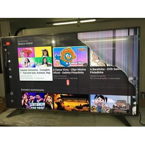 Tv Led Lg 75uh6550 4k Ultra Hd Smart - Tela Quebrada!