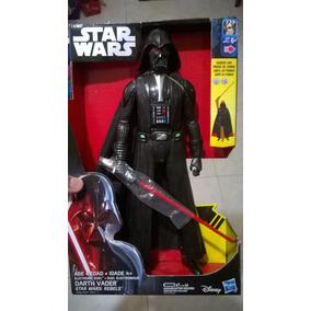 Star Wars Darth Vader Sonidos Y Luz Sable Darth Vader 30 Cm