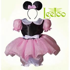 Vestido Disfraz Minnie Mouse Mimi E Invitaciones Gratis
