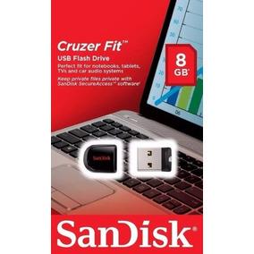 Pendrive Sandisk Cruzer Fit 8gb Micro Nano Lacrado Original