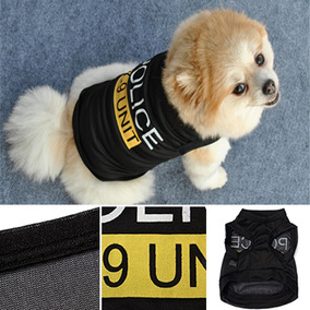 Roupa Cachorro/ Gato/ Pet - Roupa Cães Fantasia De Policia