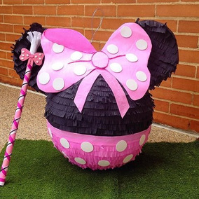Piñata De Mickey Mouse Y Minnie