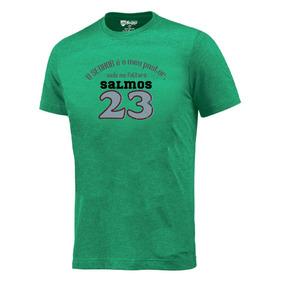 Camiseta O Senhor É Meu Pastor Camisa Evangélica #0219-vd
