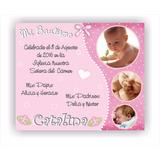 Invitaciones Tarjetas Cumpleaños Primer Añito Bautismo Baby