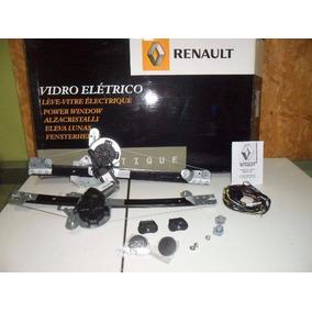 Kit Vidro Eletrico Porta Dianteiras Original Renault Sandero
