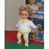 Boneca Antiga Nana Nenê Na Caixa Estrela 80