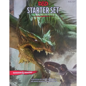 D&d Dungeons And Dragons Starter Box Set 5 Ed!