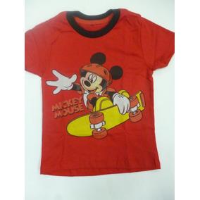 Franelas De Niño Mickey Solo Al Mayor Pequemania