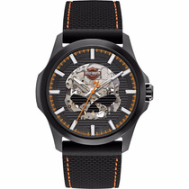 Bulova Harley Davidson Automatico Skeleton Relojes Diego Vez