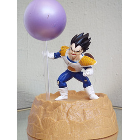 Vegeta Primer Pelea Con Goku Dragon Ball Z Mini Escenario