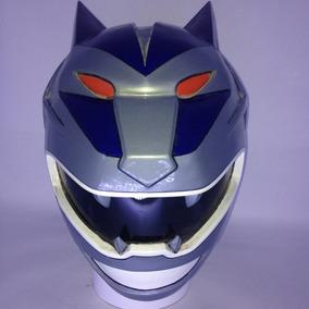 Capacete Cosplay Power Rangers Lobo Lunar