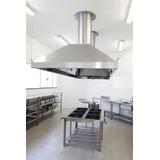 Coifa Aço Inox Sob Medida Cozinha Restaurantes Industrial