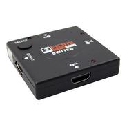 Adaptador Switch 3x1 Divisor 3 Portas Hdmi Para Tv Not Galax