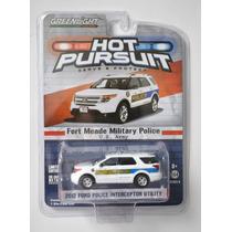 2012 Ford Police Interceptor Utility 1/64 Marca Greenlight