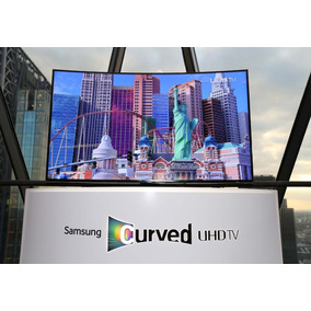 Televisor Smart Tv Curved Ultra Hd 55 Tecnología 4k Lente 3d