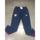 Pantalon Independiente Chupin Azul Leisure Puma 2016