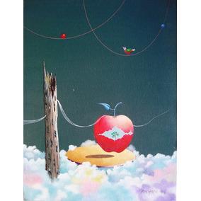 Richard Hideaki - Pintura Acrílica S/ Tela Assinada 1999