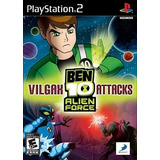 Patch Jogo Ben 10 Alien Force Vilgax Attack Play 2 Ps2 Play2