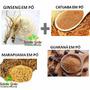 Ginseng, Catuaba, Marapuama E Guarana Em Pó 300g De Cada