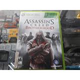 Assasins Creed Brotherhood Para Xbox 360 ( Envio Gratis )