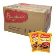 Biscoito Amanteigado Chocolate Bauducco 80 Sachês + Brinde