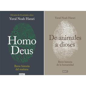 Pack Yuval Noah Harari - Homo Deus - De Animales A Dioses