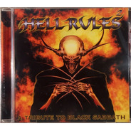 Cd Hell Rules 2 - A Tribute To Black Sabbath - Imp. Lacrado