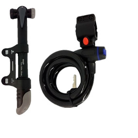 Kit Para Bicicleta Linga+inflador Topmega