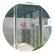 Vinilos Decorativos Mariposas De Colores Efecto Vitro