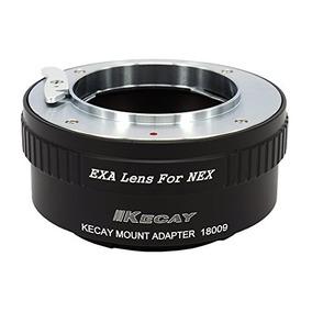 Kecay Lens Mount Adapter For Exakta/auto Topcon Lens To Sony
