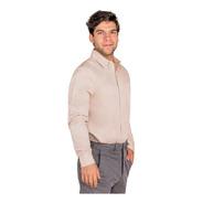 Camisa De Vestir Manga Larga Para Caballero