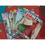 Crochet,lote De 10 Revistas