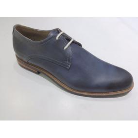 Zapato 100% Cuero Franco Pasoti Art Juan Color Azul
