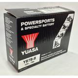 Bateria Yuasa Yb7b-b 12v 7ah Cbf150 Cbz160 Xl200 Xr200 Next